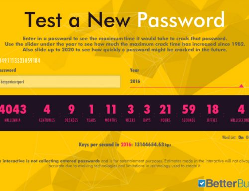 Online tool tells you how strong your email and Facebook passwords are