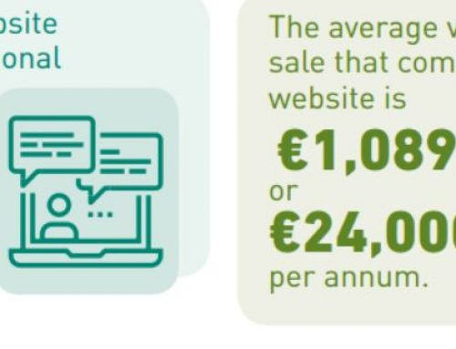 SMEs with a website make an additional €24,000 a year